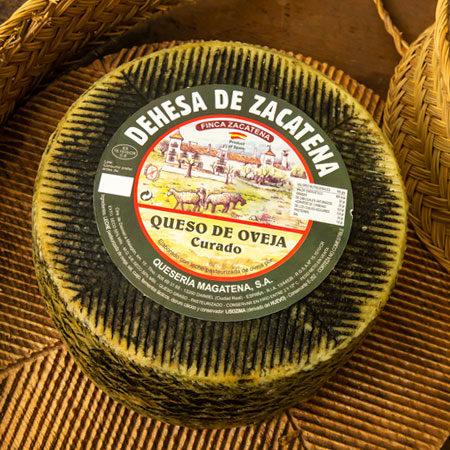 queso de oveja curado zacatena