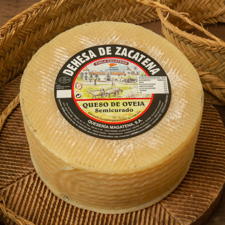 queso de oveja semicurado zacatena