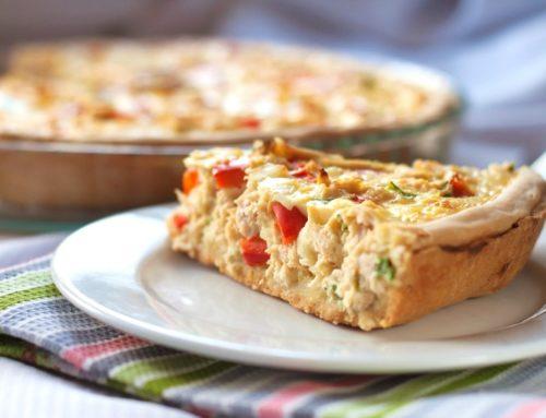 Qué es una quiche y cómo prepararla con jamón y queso